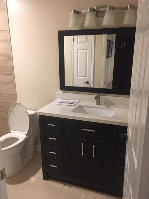 Bathroom Sink After Image